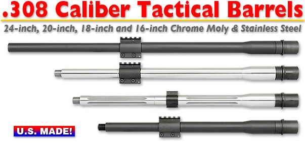 .308 Caliber Tactical Barrels
