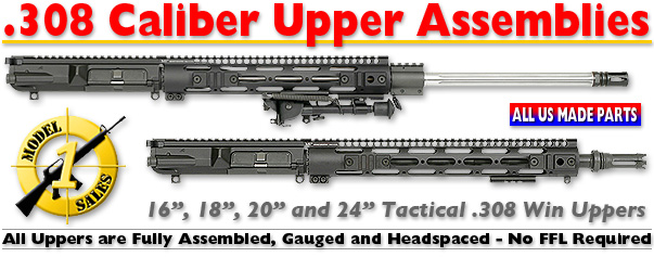 .308 Caliber Tactical Upper Assemblies