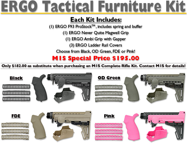 ERGO Tactical Furniture Kit